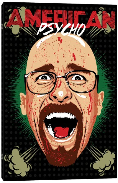 American Psycho - Breaking Bad Edition Canvas Art Print