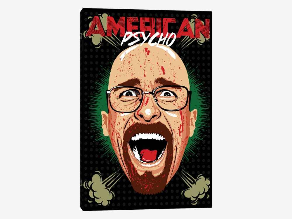 American Psycho - Breaking Bad Edition by Butcher Billy 1-piece Canvas Print