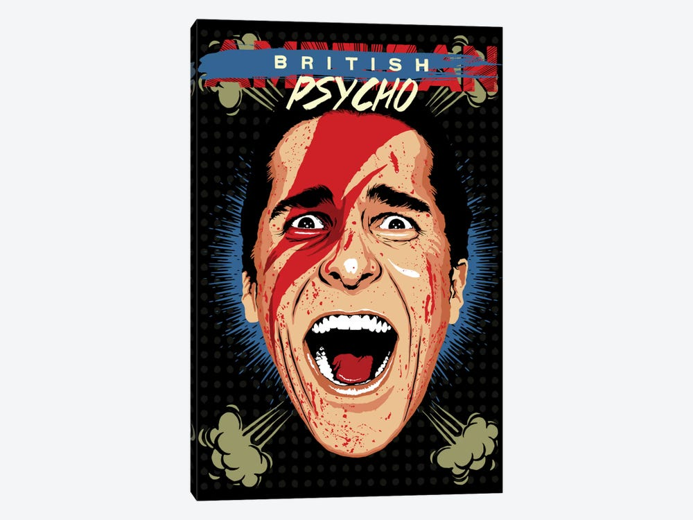 American Psycho - British Edition by Butcher Billy 1-piece Canvas Art