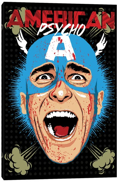 American Psycho - Cap Edition Canvas Art Print