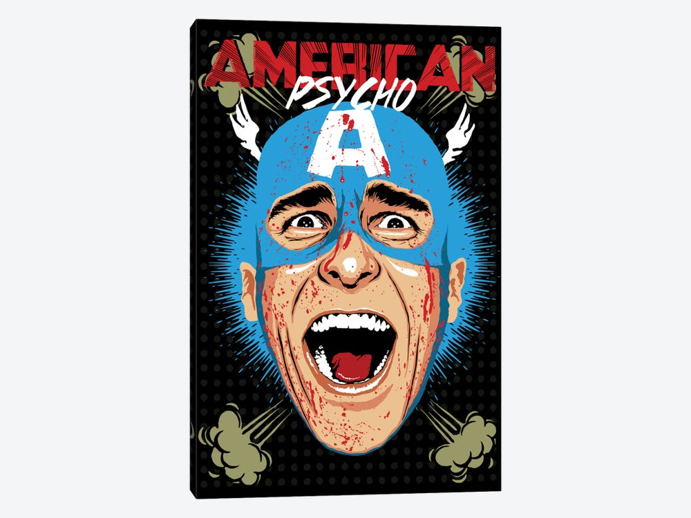 American Psycho - Cap Edition by Butcher Billy 1-piece Art Print