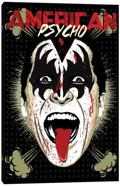 American Psycho - RocknRoll All Night Edition Canvas Print #BBY54