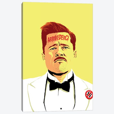Arrivederci I Canvas Print #BBY59} by Butcher Billy Canvas Artwork