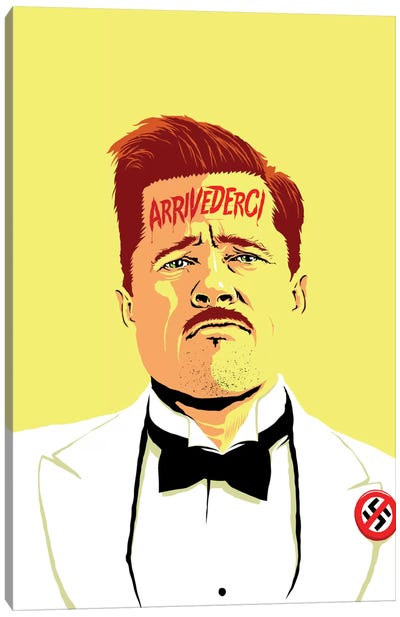Arrivederci I Canvas Art Print