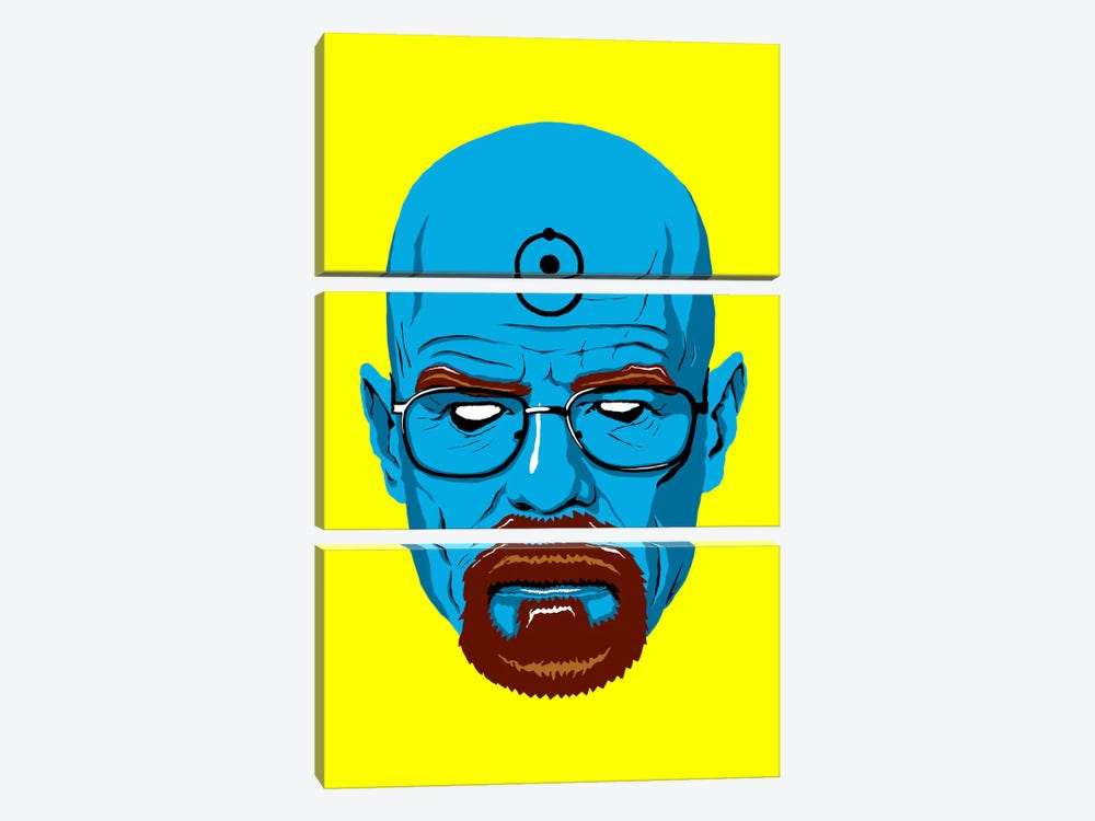 Say My Name by Butcher Billy 3-piece Canvas Print