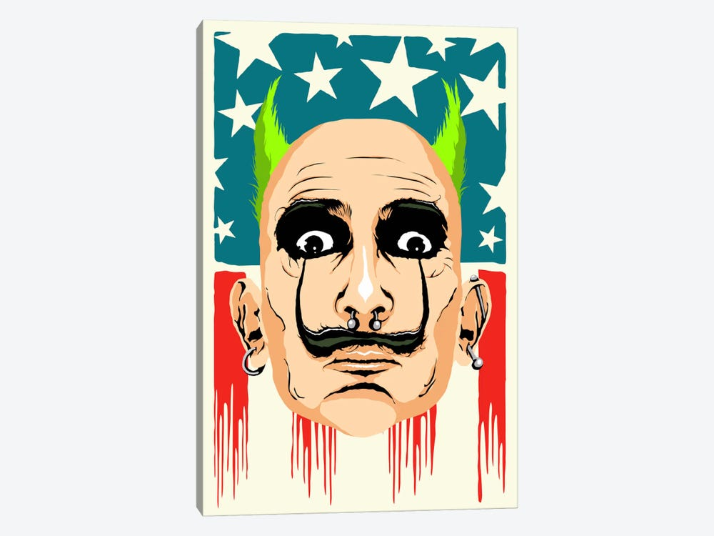 Smack my Dali Up by Butcher Billy 1-piece Canvas Art