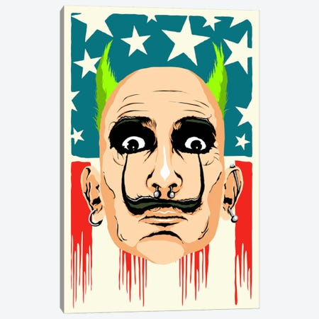 Smack my Dali Up Canvas Print #BBY67} by Butcher Billy Canvas Wall Art