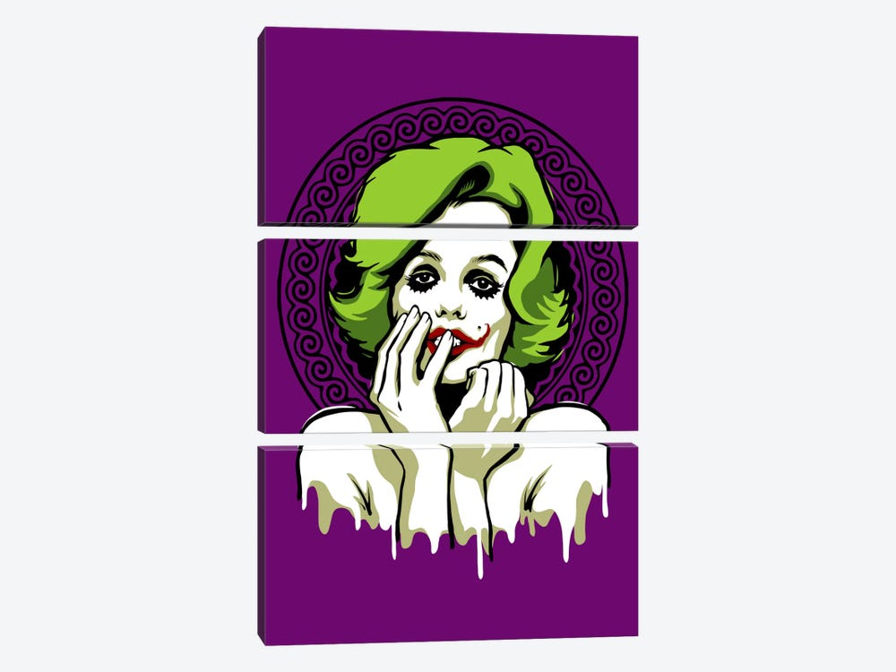 Some Like It Rotten by Butcher Billy 3-piece Canvas Print