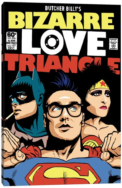 Bizarre Love Triangle - The Post-Punk Edition Canvas Art Print