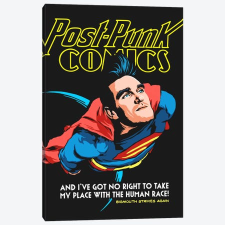 Supermouth Strikes Again Canvas Print #BBY74} by Butcher Billy Art Print