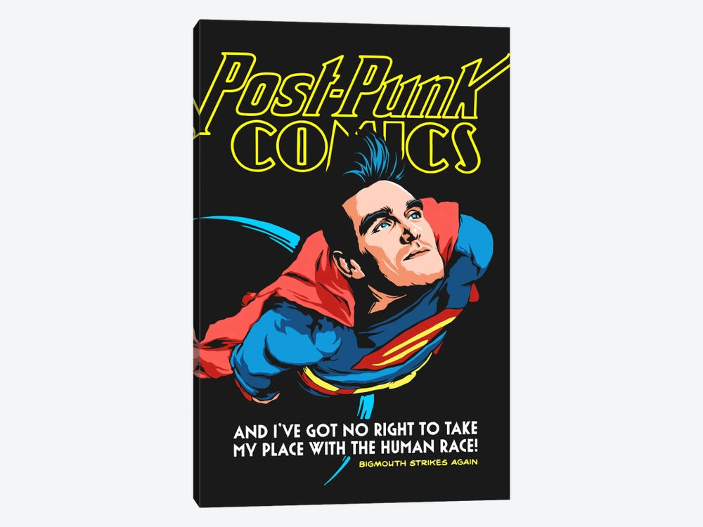 Supermouth Strikes Again by Butcher Billy 1-piece Canvas Art