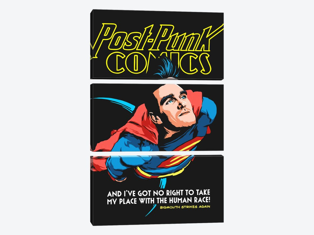 Supermouth Strikes Again by Butcher Billy 3-piece Canvas Wall Art