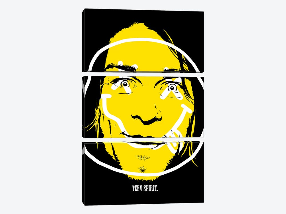 Teen Spirit by Butcher Billy 3-piece Canvas Print
