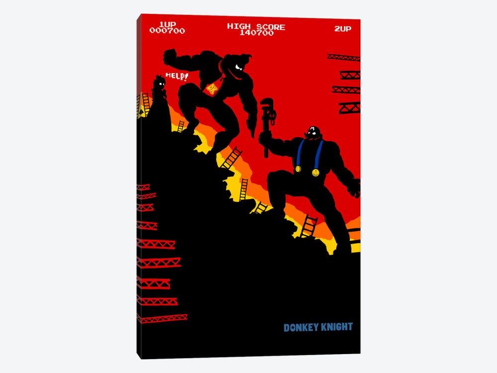 The Donkey Knight Returns by Butcher Billy 1-piece Canvas Print
