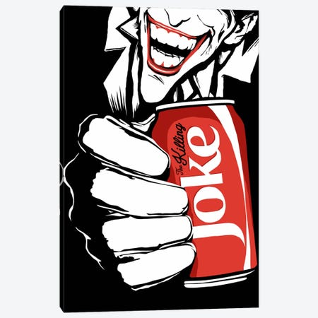 The Killing Joke - The B&W Edit Canvas Print #BBY79} by Butcher Billy Canvas Artwork