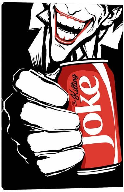 The Killing Joke - The B&W Edit Canvas Art Print