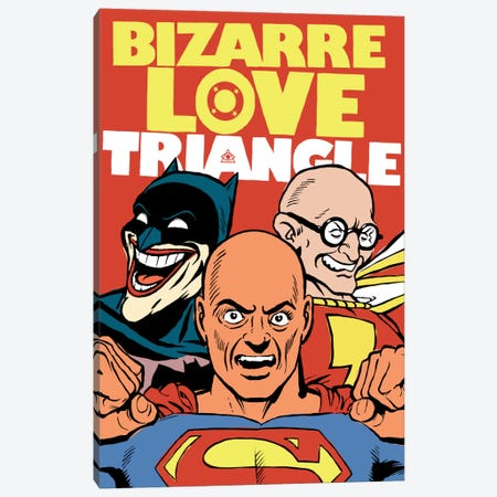 Bizarre Love Triangle Canvas Print #BBY7} by Butcher Billy Canvas Print
