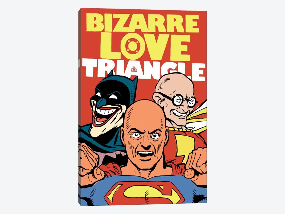 Bizarre Love Triangle by Butcher Billy 1-piece Canvas Wall Art