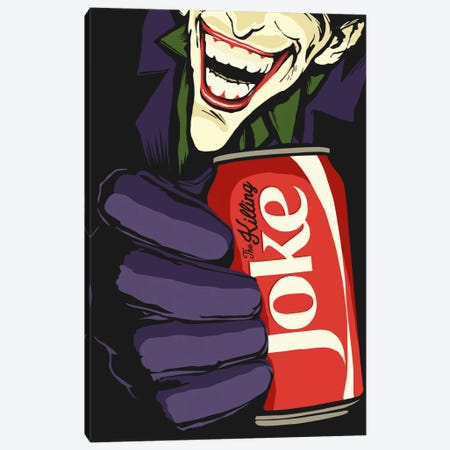 The Killing Joke Canvas Print #BBY80} by Butcher Billy Canvas Art Print