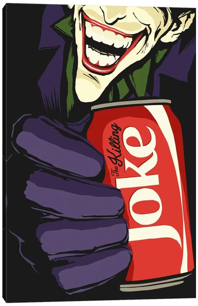 The Killing Joke Canvas Print #BBY80