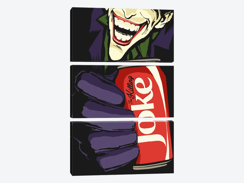 The Killing Joke by Butcher Billy 3-piece Canvas Art Print