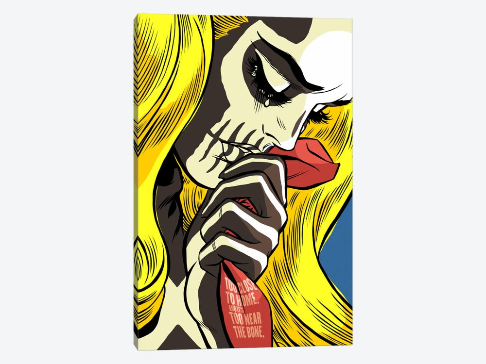 The Love Bones by Butcher Billy 1-piece Canvas Art Print