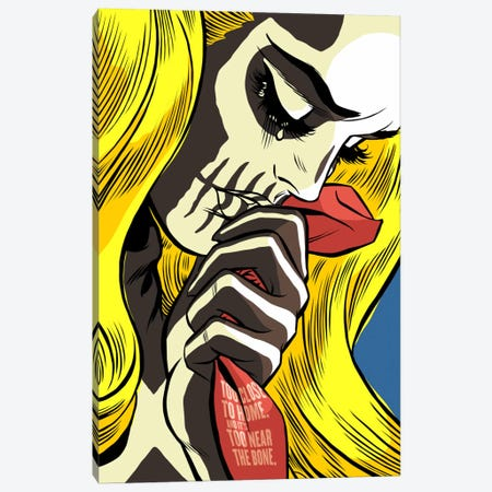 The Love Bones Canvas Print #BBY82} by Butcher Billy Canvas Print