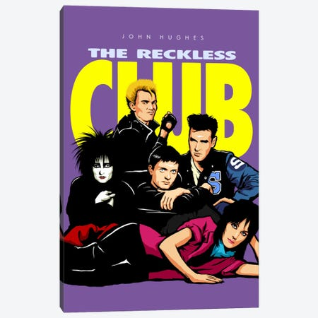 The Reckless Club Canvas Print #BBY84} by Butcher Billy Canvas Art