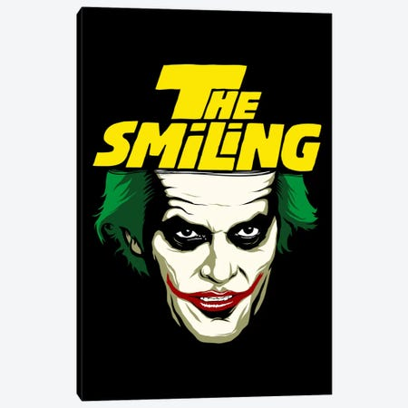The Smiling Canvas Print #BBY86} by Butcher Billy Canvas Artwork