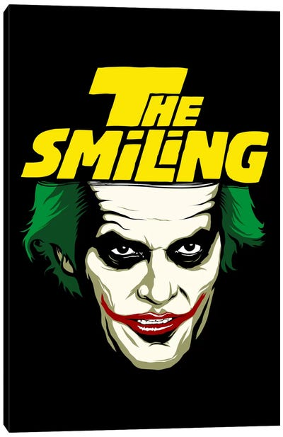 The Smiling Canvas Art Print