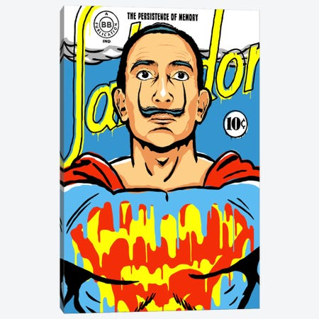 The World Needs a Salvador Canvas Print #BBY87} by Butcher Billy Canvas Wall Art