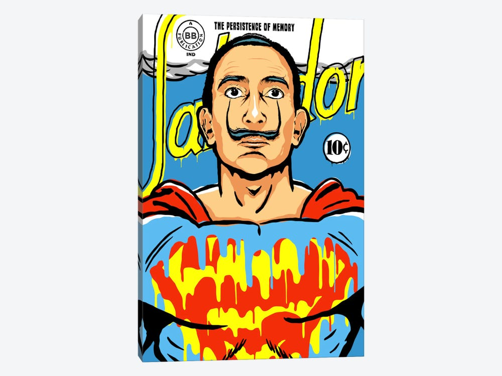The World Needs a Salvador by Butcher Billy 1-piece Canvas Artwork