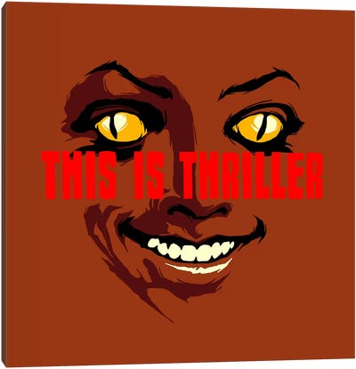 This Is Thriller - Part 1 Canvas Print #BBY88