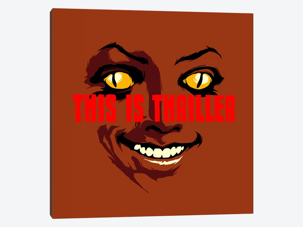 This Is Thriller - Part 1 by Butcher Billy 1-piece Canvas Art Print