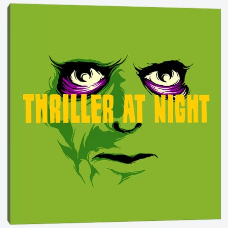 This Is Thriller - Part 2 Canvas Print #BBY89} by Butcher Billy Canvas Print
