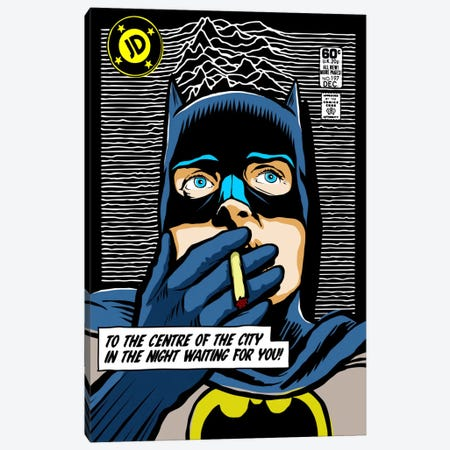 Post-Punk Dark Canvas Print #BBY95} by Butcher Billy Canvas Print