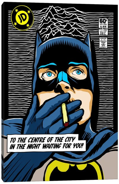 Post-Punk Dark Canvas Print #BBY95
