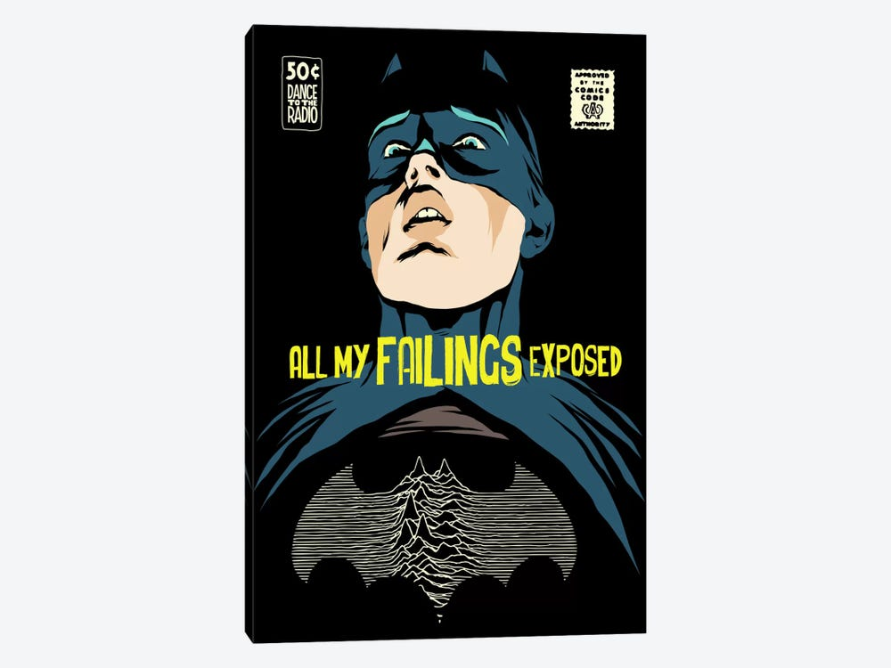Post-Punk Failings Exposed by Butcher Billy 1-piece Canvas Wall Art