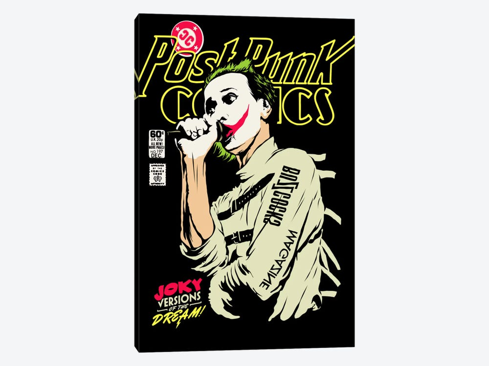 Post-Punk Joky Versions of the Dream by Butcher Billy 1-piece Canvas Print