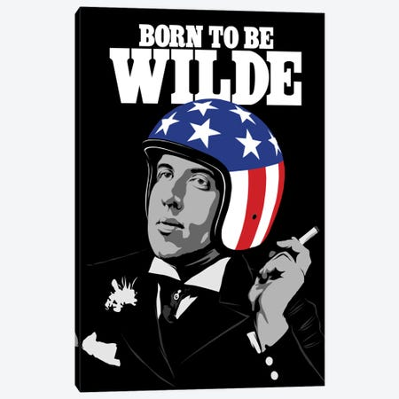 Born To Be Wilde Canvas Print #BBY9} by Butcher Billy Canvas Artwork