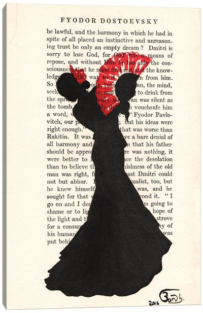Flamenco Dancer II Canvas Art Print