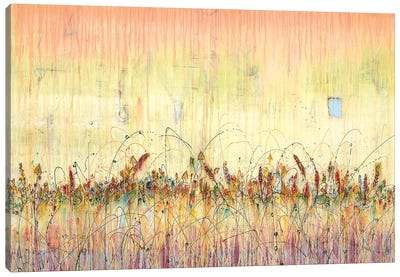 Wildflowers At The Crossroads Canvas Art Print
