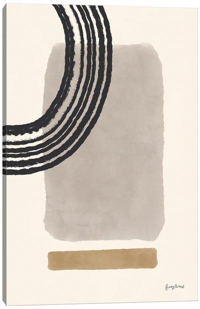 Geo Abstract III Neutral Pink Canvas Art Print