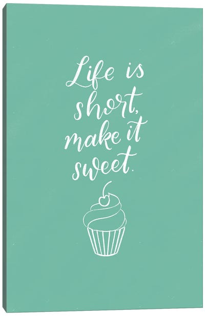 Kitchen Words I Canvas Art Print