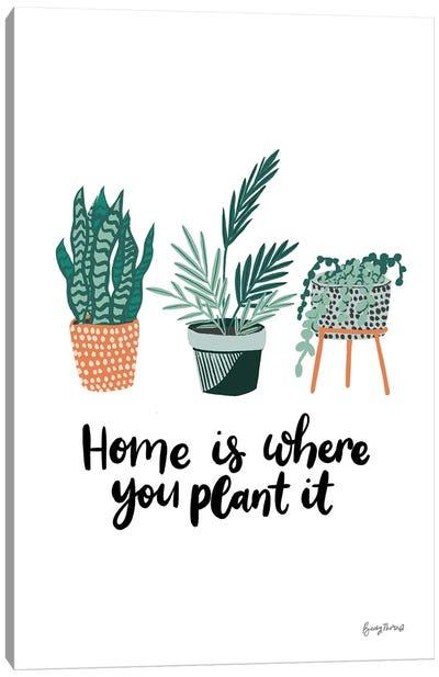 Plant It Canvas Art Print