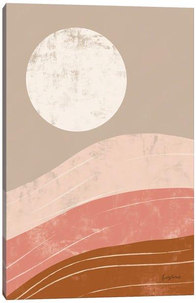 Desert Sunrise I Canvas Art Print