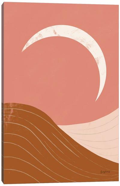 Desert Sunrise II Canvas Art Print