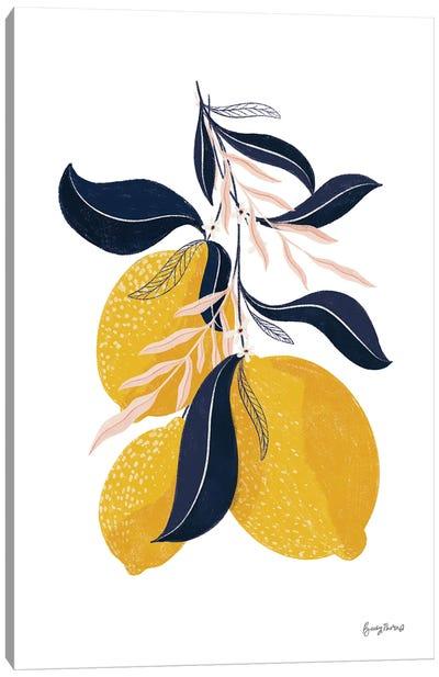 Lemons I No Words Canvas Art Print