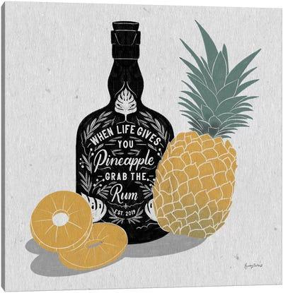 Fruity Spirits Rum Canvas Art Print