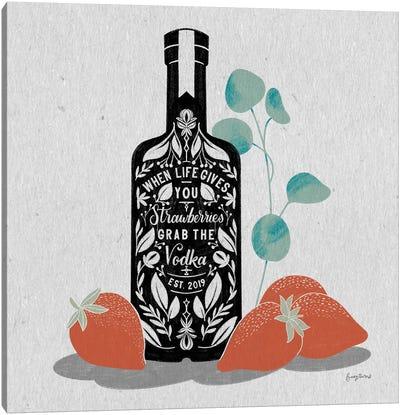 Fruity Spirits Vodka Canvas Art Print